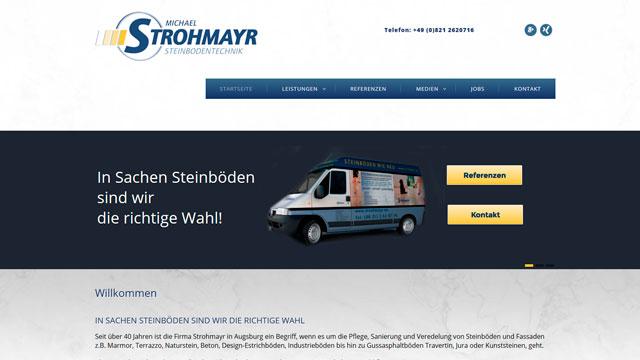 Webdesign Augsburg fürs Bau und Industriegewerbe