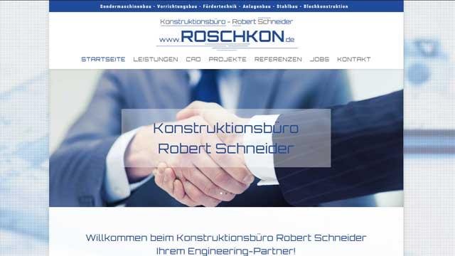Webdesign Augsburg für Ingenieure