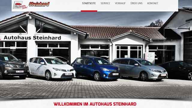 Webdesign Augsburg für Autohäuser Autohändler