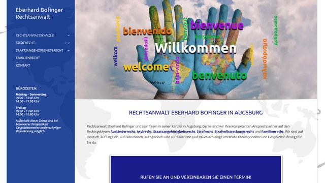 Webdesign Augsburg für Rechtsanwalt IT-Recht