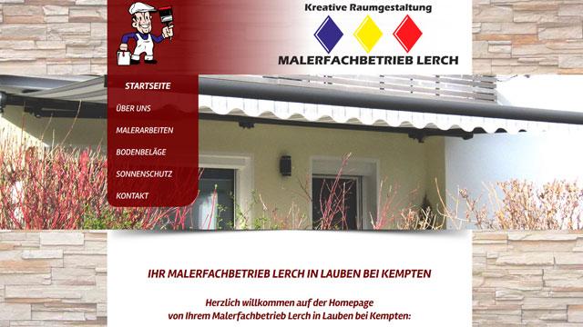 Webdesign Augsburg für Handwerker Maler