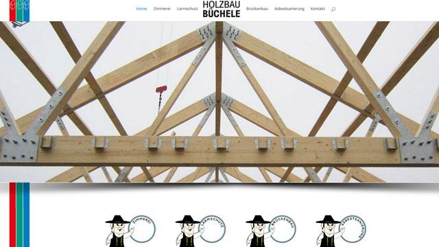 Webdesign Augsburg für Holzbau Schreiner