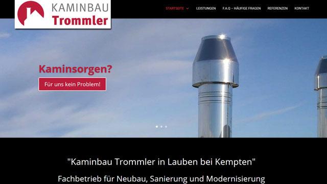 Webdesign Augsburg für Kaminbauer
