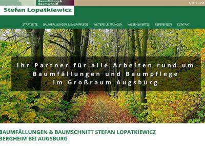 Baumfällungen Lopatkiewicz – Bergheim bei Augsburg