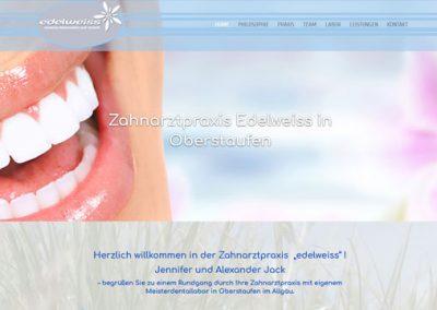 Zahnarztpraxis Edelweiss – Oberstaufen im Allgäu