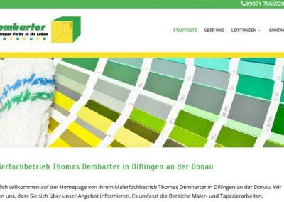 Malerfachbetrieb Demharter in Dillingen