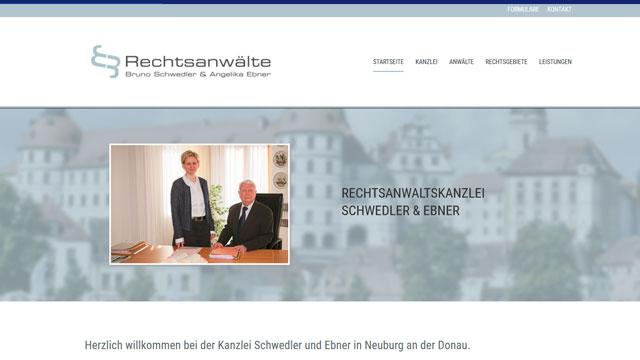 Webdesign Augsburg für Kanzlei