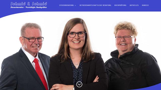 Webdesign Augsburg für Steuerberater