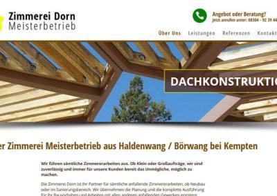 Zimmerei aus Haldenwang / Börwang bei Kempten