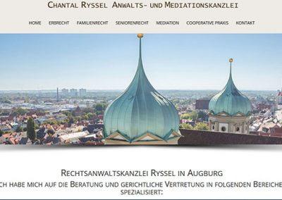 Rechtsanwaltskanzlei Frau Ryssel in Augsburg