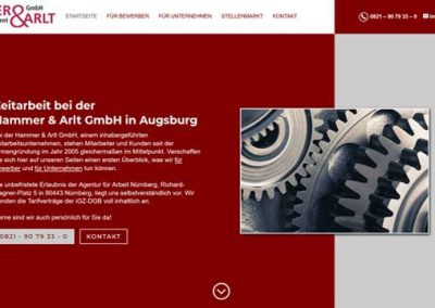 Personalmanagement Hammer & Arlt Augsburg