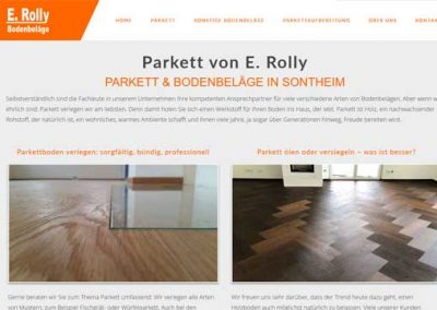 Parkett und Bodenbeläge Rolly in Sontheim