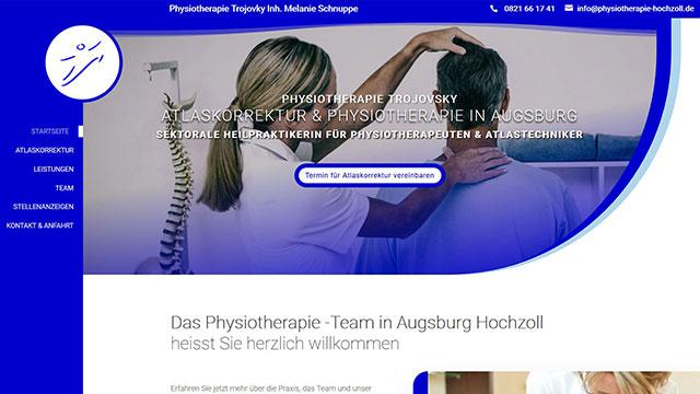 Homepage erstellen lassen Augsburg Hochzoll