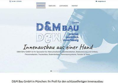 D&M Bau GmbH – Schlüsselfertiger Innenausbau in München