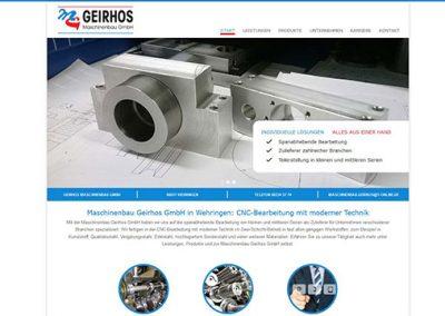 Maschinenbau Geirhos GmbH in Wehringen