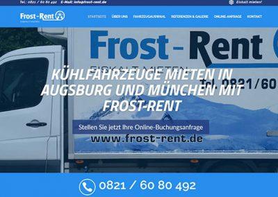 Frost-Rent Kühlfahrzeuge mieten in Augsburg/München