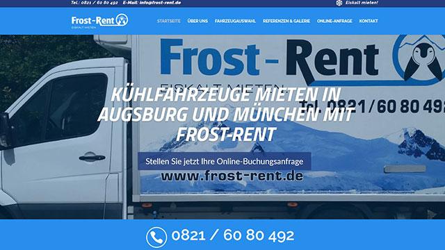 Homepage erstellen lassen Augsburg und München