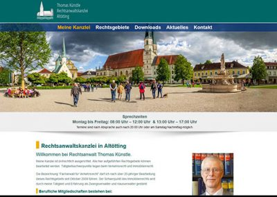 Künstle – Rechtsanwaltskanzlei in Altötting
