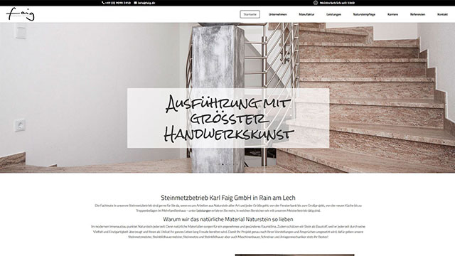 Professionelle Webseiten aus  Augsburg
