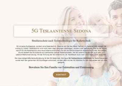 Sedona Teslaantenne 5G – Umwelttechnik München