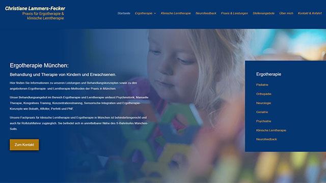 Ergotherapie München - Webdesign und SEO