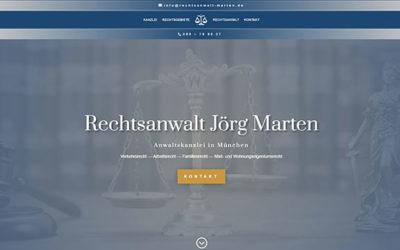 Rechtsanwalt Jörg Marten – Anwaltskanzlei in München