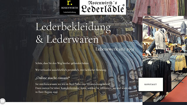 Lederbekleidung & Lederwaren Rosenwirth