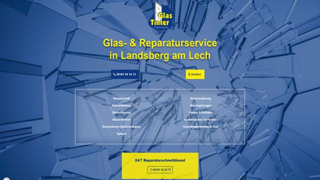 Glas Tinter | Glas- & Reparaturservice Landsberg am Lech